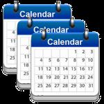 3 calendars, 3 month subscription